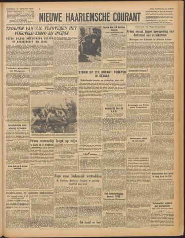 Nieuwe Haarlemsche Courant 1950-09-18