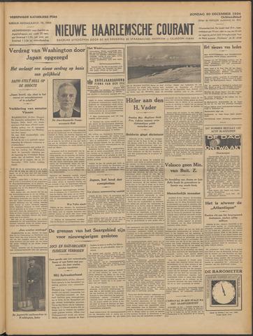 Nieuwe Haarlemsche Courant 1934-12-30