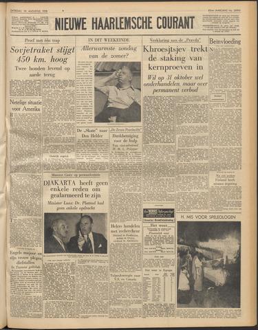 Nieuwe Haarlemsche Courant 1958-08-30