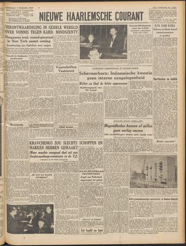 Nieuwe Haarlemsche Courant 1949-02-09