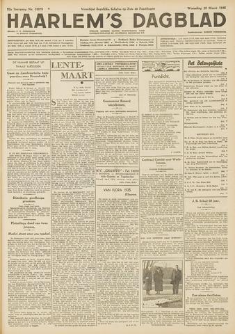 Haarlem's Dagblad 1935-03-20