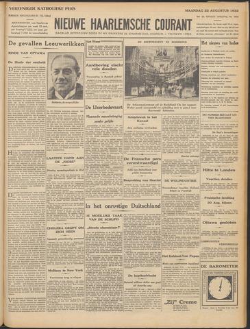 Nieuwe Haarlemsche Courant 1932-08-22