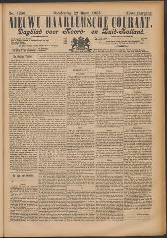 Nieuwe Haarlemsche Courant 1906-03-22