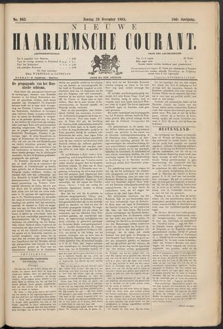 Nieuwe Haarlemsche Courant 1885-12-20