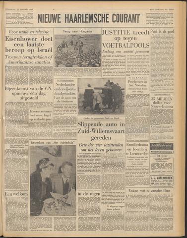 Nieuwe Haarlemsche Courant 1957-02-21
