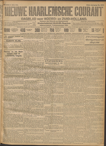 Nieuwe Haarlemsche Courant 1914-07-03