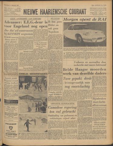 Nieuwe Haarlemsche Courant 1963-02-06