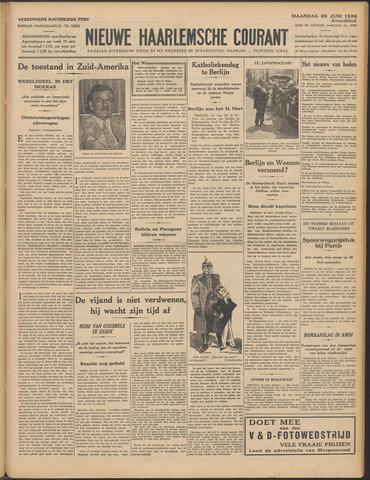 Nieuwe Haarlemsche Courant 1934-06-25