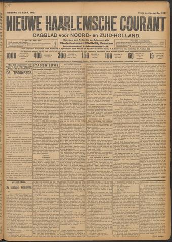 Nieuwe Haarlemsche Courant 1910-09-20