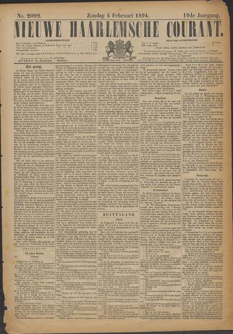 Nieuwe Haarlemsche Courant 1894-02-04