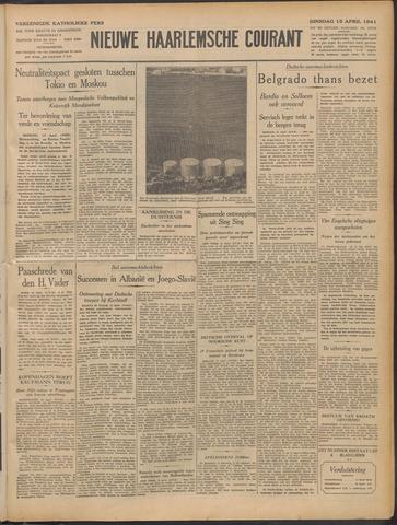 Nieuwe Haarlemsche Courant 1941-04-15