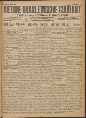 Nieuwe Haarlemsche Courant 1913-09-26