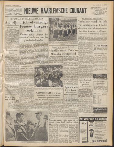 Nieuwe Haarlemsche Courant 1958-06-05
