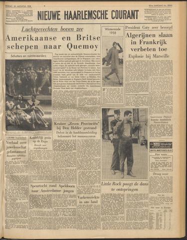 Nieuwe Haarlemsche Courant 1958-08-26