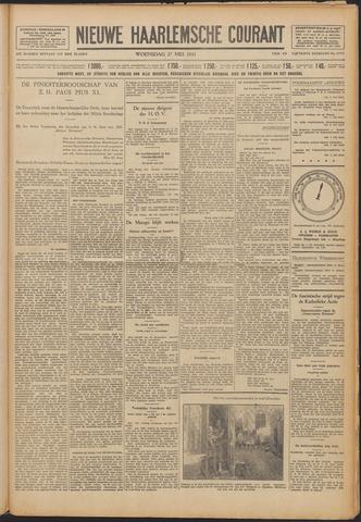Nieuwe Haarlemsche Courant 1931-05-27