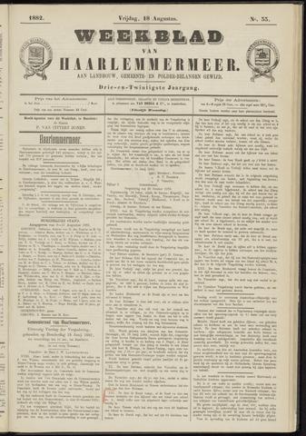 Weekblad van Haarlemmermeer 1882-08-18