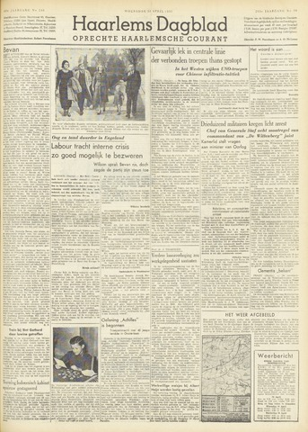 Haarlem's Dagblad 1951-04-25