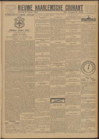 Nieuwe Haarlemsche Courant 1923-02-12