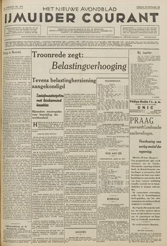 IJmuider Courant 1938-09-20
