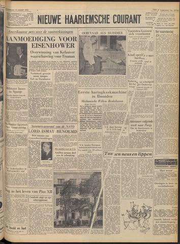 Nieuwe Haarlemsche Courant 1952-03-13