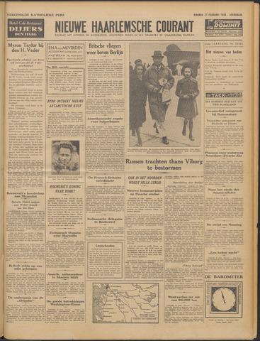Nieuwe Haarlemsche Courant 1940-02-27