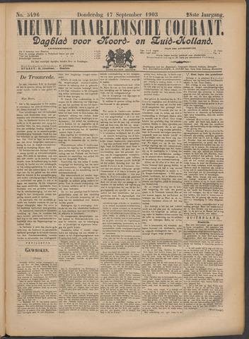 Nieuwe Haarlemsche Courant 1903-09-17