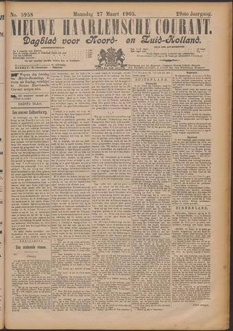 Nieuwe Haarlemsche Courant 1905-03-27