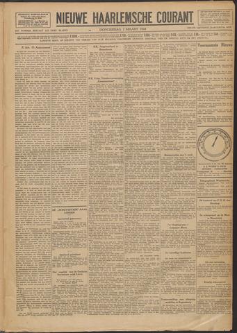 Nieuwe Haarlemsche Courant 1928-03-01