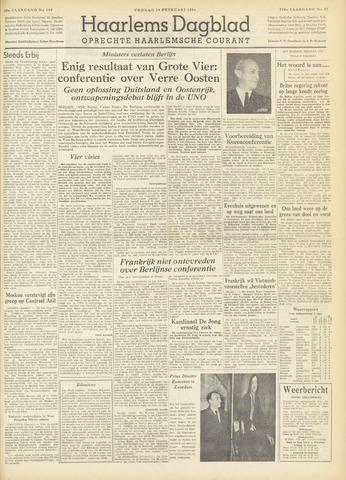 Haarlem's Dagblad 1954-02-19