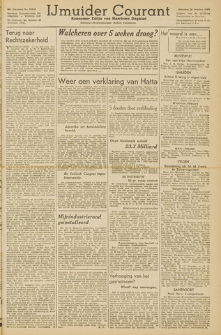IJmuider Courant 1945-10-20