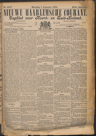 Nieuwe Haarlemsche Courant 1901-08-05