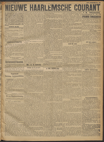 Nieuwe Haarlemsche Courant 1917-04-14
