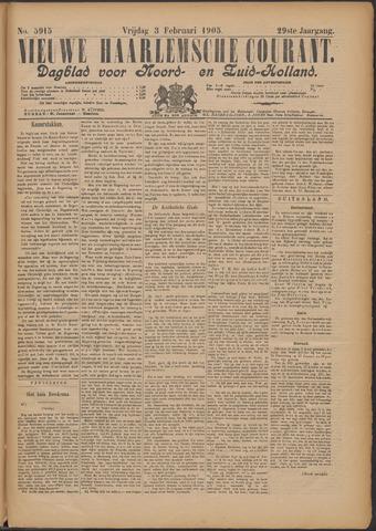 Nieuwe Haarlemsche Courant 1905-02-03