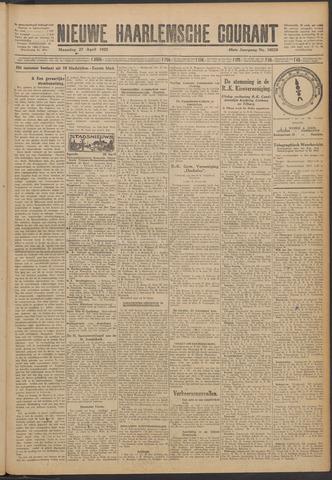 Nieuwe Haarlemsche Courant 1925-04-27