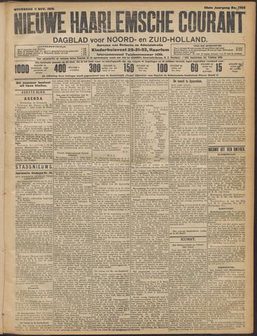 Nieuwe Haarlemsche Courant 1910-11-09