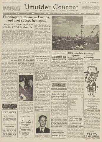 IJmuider Courant 1959-09-04