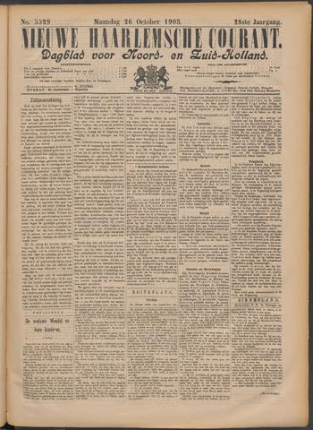 Nieuwe Haarlemsche Courant 1903-10-26