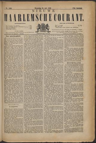 Nieuwe Haarlemsche Courant 1892-07-20