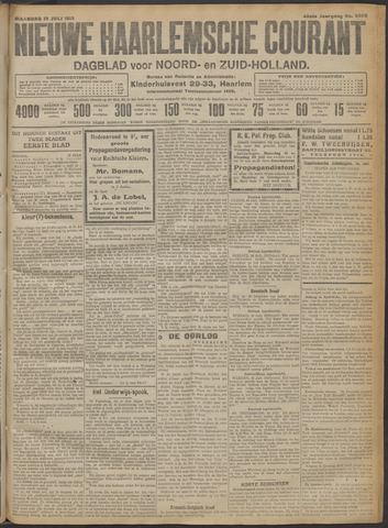 Nieuwe Haarlemsche Courant 1915-07-19