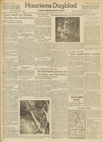 Haarlem's Dagblad 1950-10-14