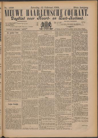 Nieuwe Haarlemsche Courant 1904-02-13