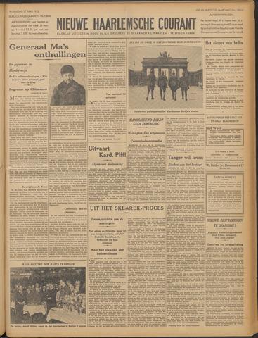 Nieuwe Haarlemsche Courant 1932-04-27