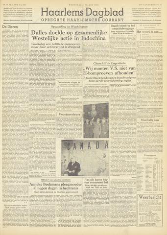 Haarlem's Dagblad 1954-03-31