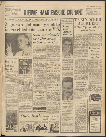 Nieuwe Haarlemsche Courant 1964-11-05
