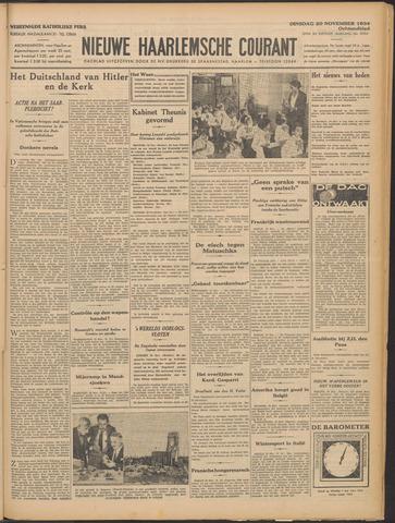Nieuwe Haarlemsche Courant 1934-11-20