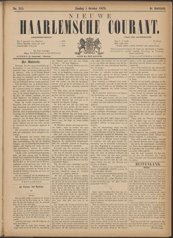 Nieuwe Haarlemsche Courant 1879-10-05