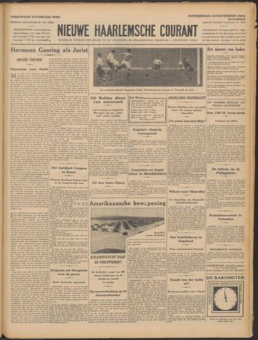 Nieuwe Haarlemsche Courant 1934-11-15