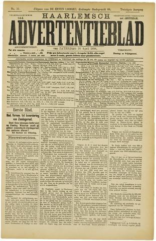 Haarlemsch Advertentieblad 1898-04-16