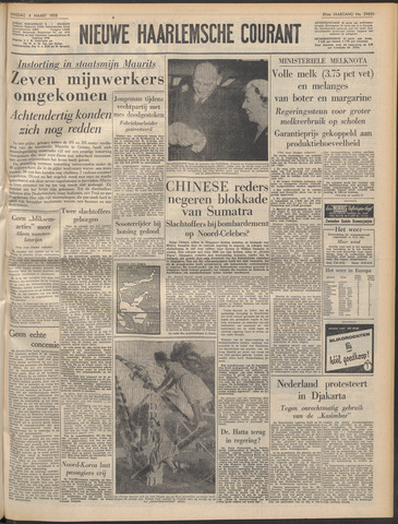 Nieuwe Haarlemsche Courant 1958-03-04