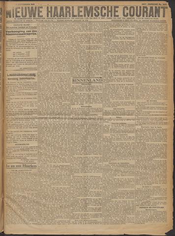 Nieuwe Haarlemsche Courant 1919-09-30